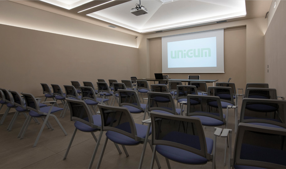 The new multimedia room created at Unigum
