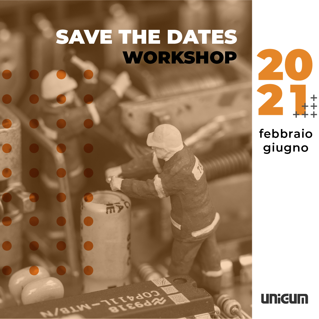 Calendario workshop UNIGUM 2021